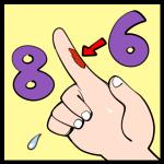 第86回「ステッカーめくったら指の皮がめくれた話してるラジオ」